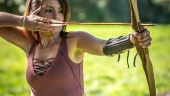 Learning the right posture for archery at Archery Park Nelson