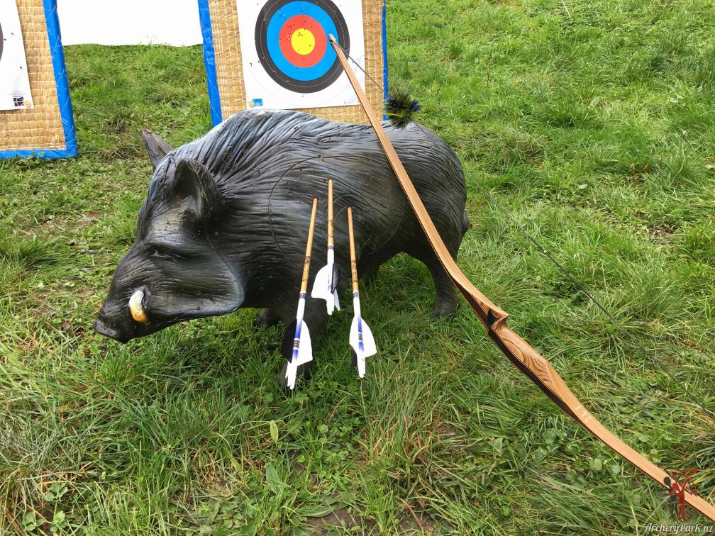 3D archery boar target