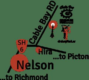 Archery Park Nelson location map