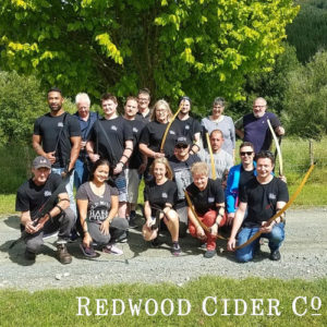 Redwood Cider at Archery Park Nelson