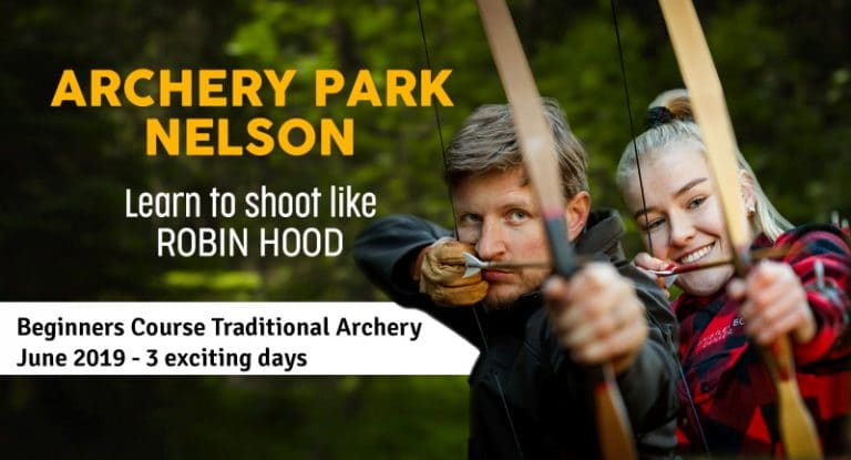 Traditional Archery 3 Day Course at Archery Park Nelson