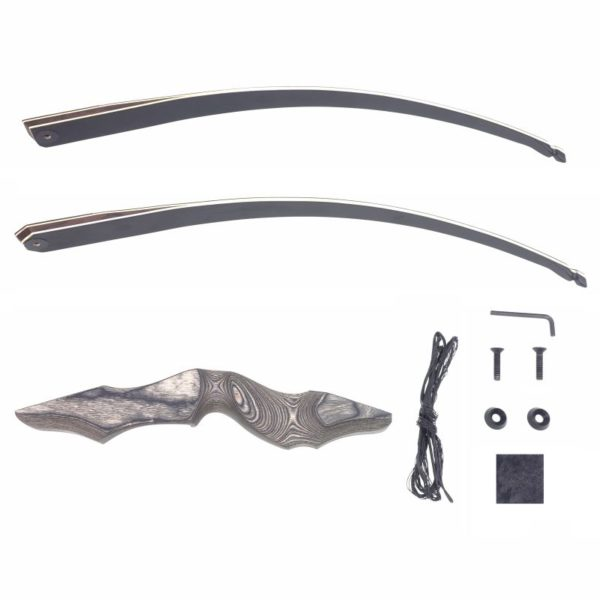 Black Hunter Longbow - All parts of the package