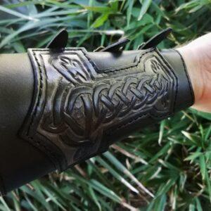 Trad Prime Thor Armguard worn on arm