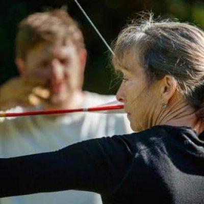 Archery training at Archery Park Nelson