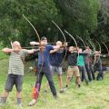 All archers at the 1st Easter Hunt at Archery Park